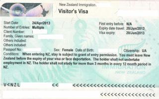 Как уехать работать в новую зеландию: вакансии и оформление визы