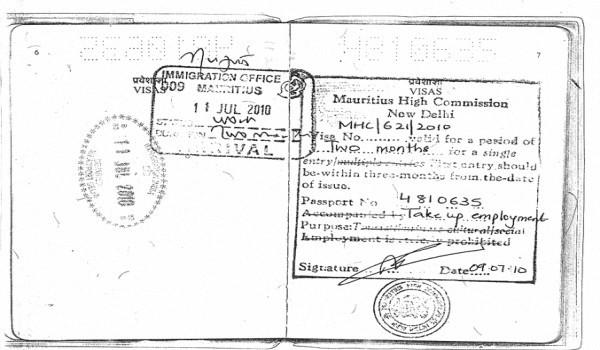 Нужна ли россиянам виза на о. Маврикий и как её оформить