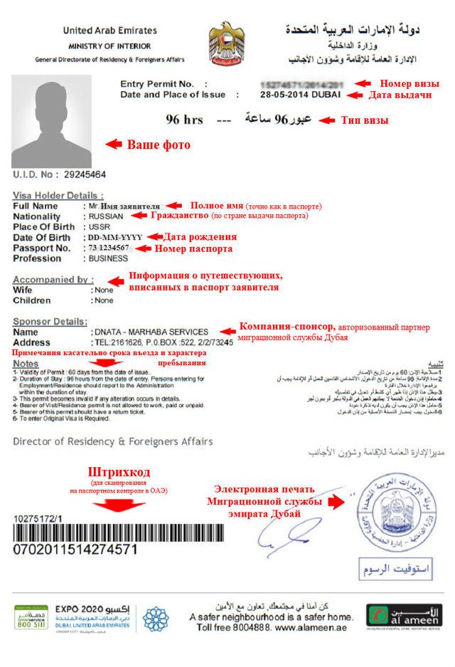 Нужна ли виза в ОАЭ для россиян при транзите через Дубай