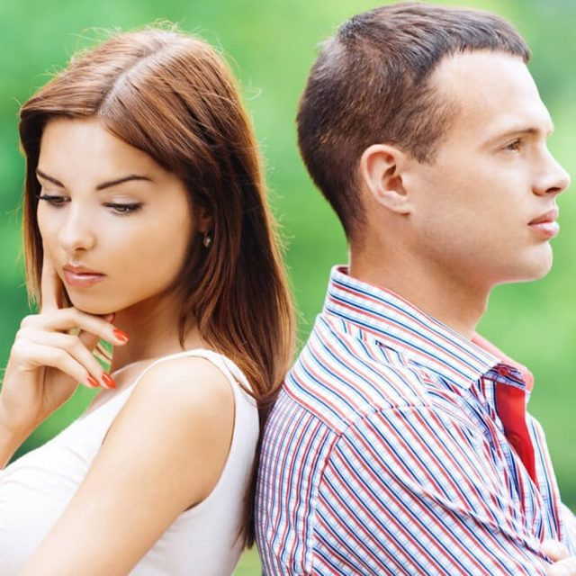 Основные причины разводов