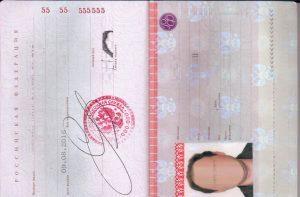 Образец заполнения анкеты на японскую визу