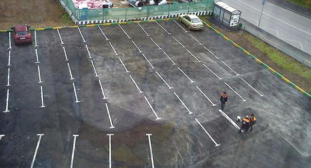 Размеры машиноместа на открытой стоянке по ГОСТу парковки