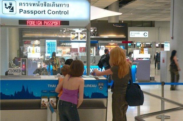 Образец заполнения миграционной карты в Таиланде