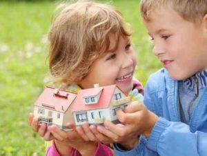 Выделение долей имущества детям из материнского капитала: образец соглашения
