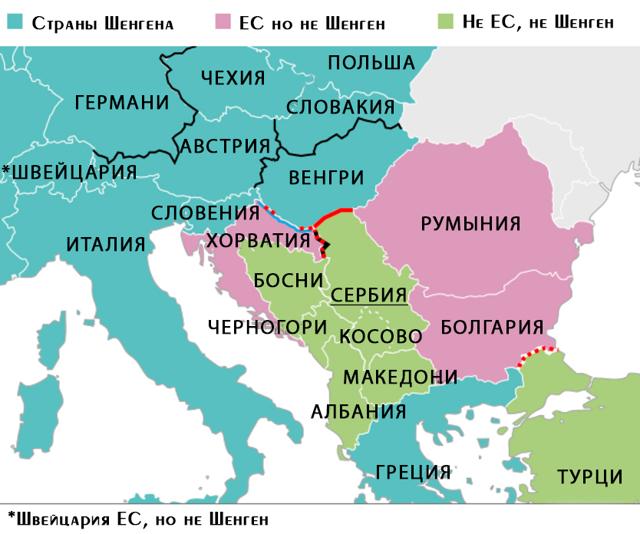 Виза в Сербию россиянам не нужна